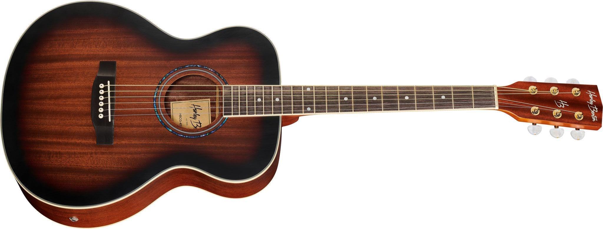 Harley Benton CG-45E an all mahogany grand concert acoustic