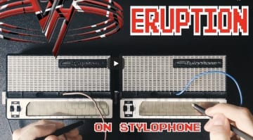 Eddie Van Halen's Eruption on Stylophone