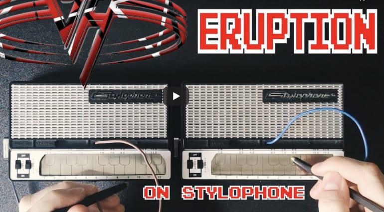 Eddie Van Halen's Eruption on Stylophone