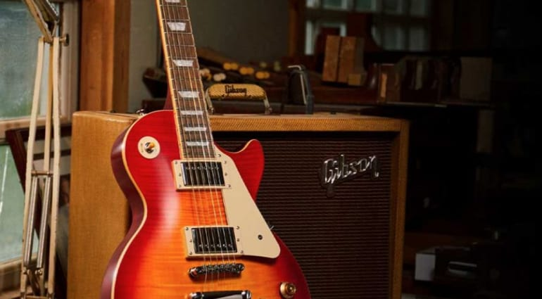 Epiphone collaborate with Gibson Custom Shop on this '59 Les Paul