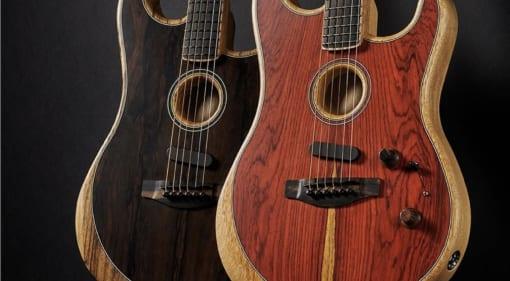 Fender Exotic American Acoustasonic Stratocaster