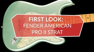 Fender Amercian Professional Stratocaster First Look