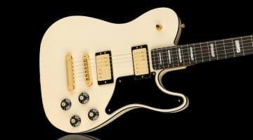 Fender Parallel Universe Vol II Troublemaker Telecaster Deluxe- A Fender LP Custom?