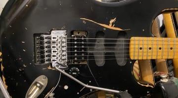 Building my own Van Halen Frankenstein Super Strat in a day: A tribute to the spirit of Eddie