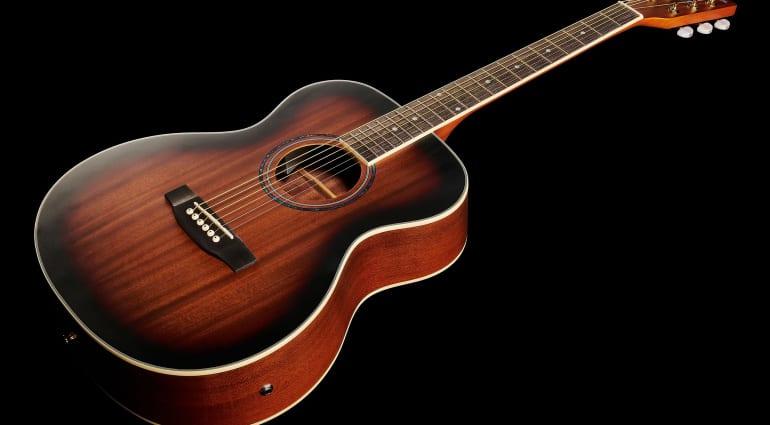 Harley Benton CG-45E an all-mahogany grand concert acoustic