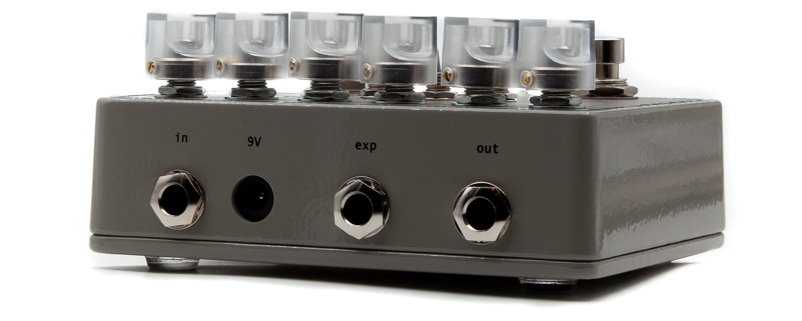 SolidGoldFX NU-33 Vinyl Engine top mounted kacks and expression pedal input