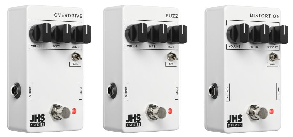 JHS launches their new Series 3 pedal rang