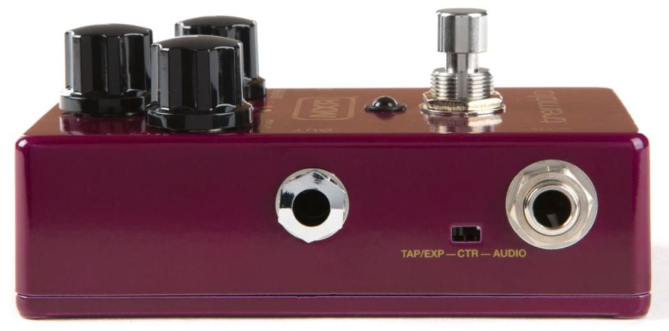 MXR M305 Tremolo with tap tempo:Expression or stereo output
