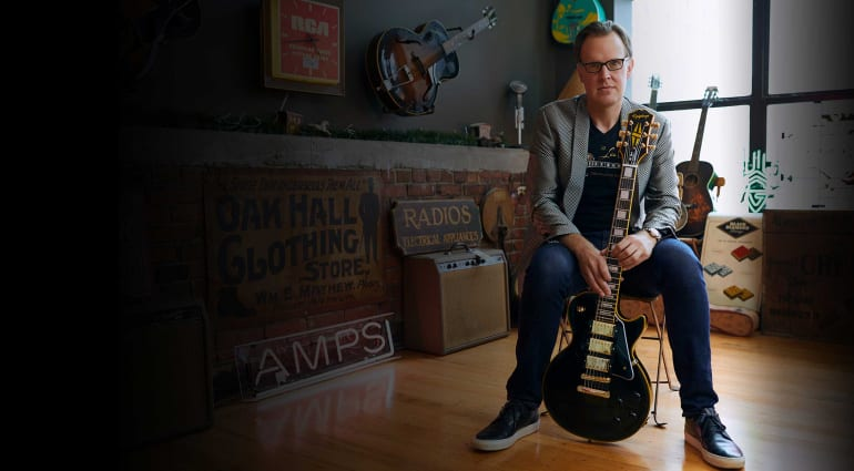 Joe Bonamassa's new Epiphone Black Beauty Les Paul is his 8th signature model