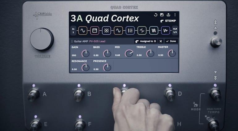 Neural DSP Quad Cortex Floor Modeller