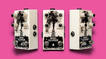Old Blood Noise Endeavors Black Fountain V3 + Tap Tempo- Oil Can Delay with new features