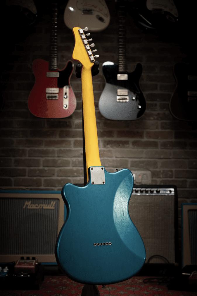 Macmull Custom Guitars The Stinger rear