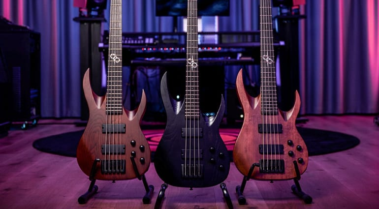 Solar Guitars AB2 Bass Series