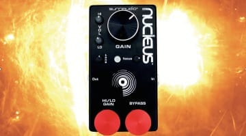 SunnAudio Nucleus NU-1 preamp:distortion pedal