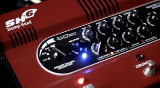 Taurus Stomp-Head 6.CE pedalboard amplifier