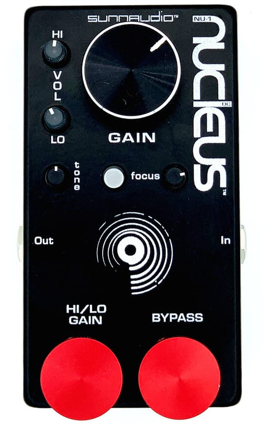 SunnAudio Nucleus NU-1 preamp:distortion pedal
