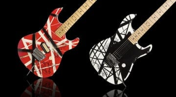 Two Eddie Van Halen guitars are upon for sale at the Icons & Idols Trilogy- Rock 'N' Roll auction