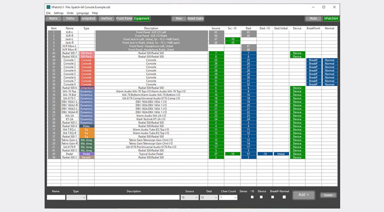 CB Electronics XPatch 2 software