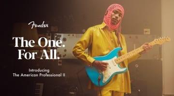 Fender American Professional II range launched