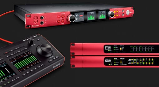 Focusrite Pro: new Red interfaces and desktop controller