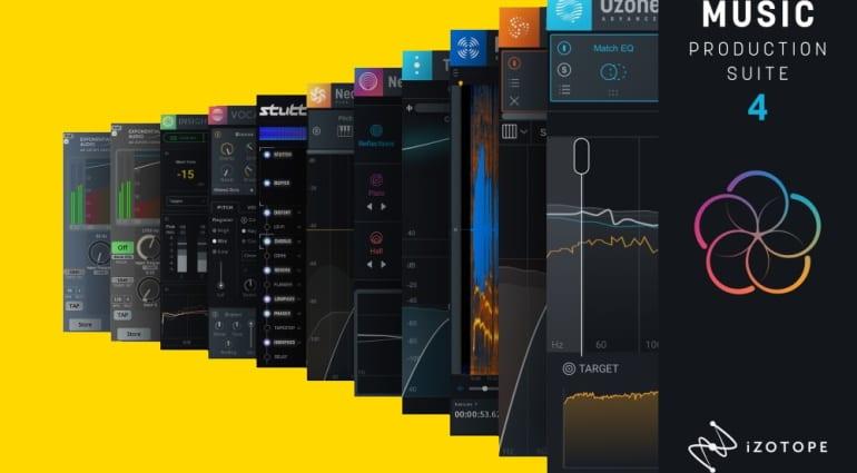 iZotope Music Production Suite 4 deal sale