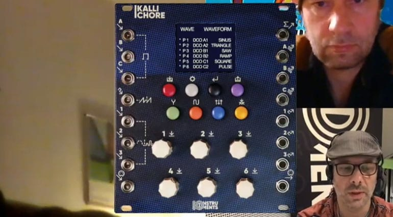 SynthBooth: IO Instruments KALYKE, CARPOL and KALLICHORE modules