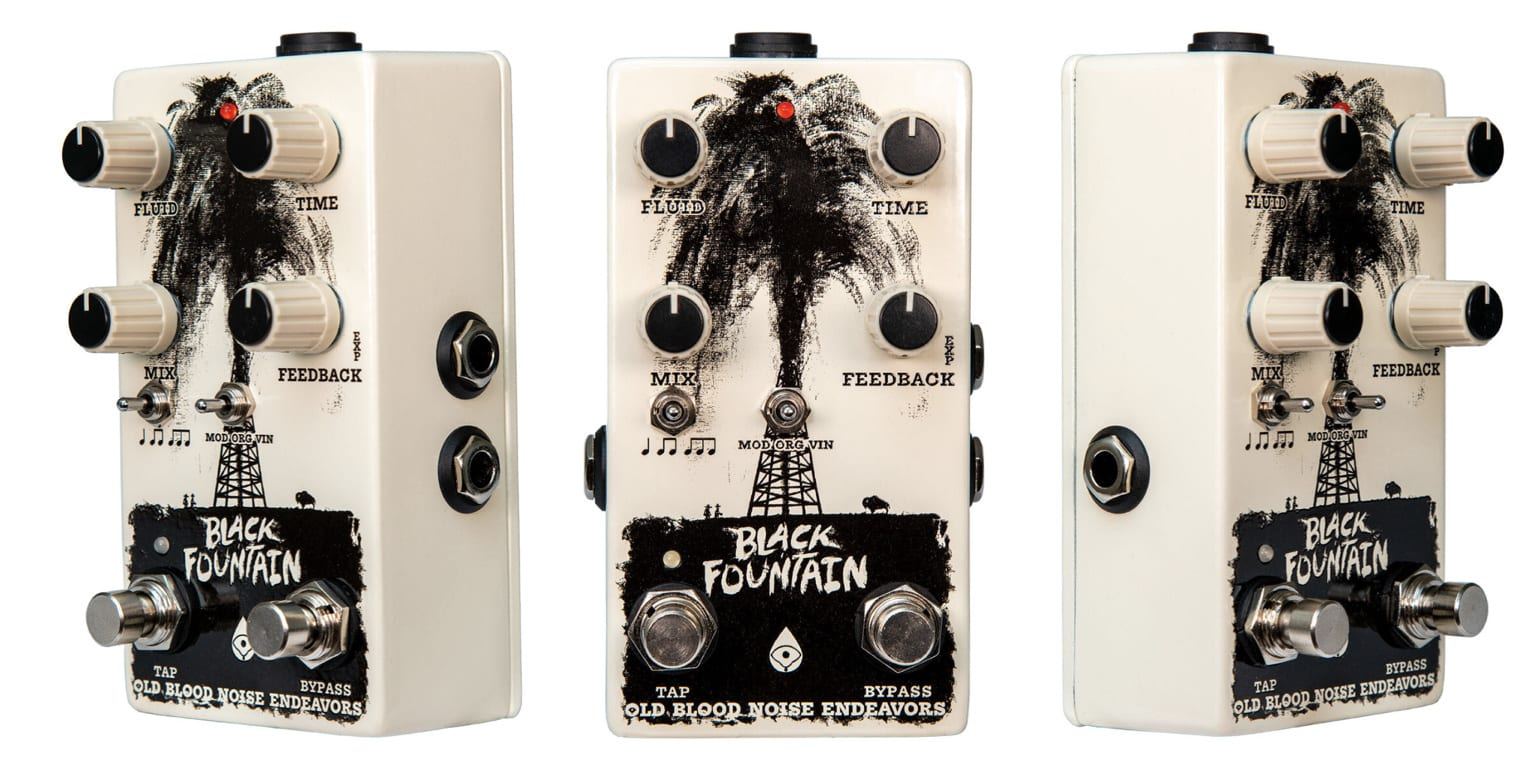 Old Blood Noise Endeavors Black Fountain V3 + Tap Tempo