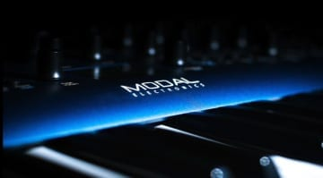 Modal Electronics blue synthesizer