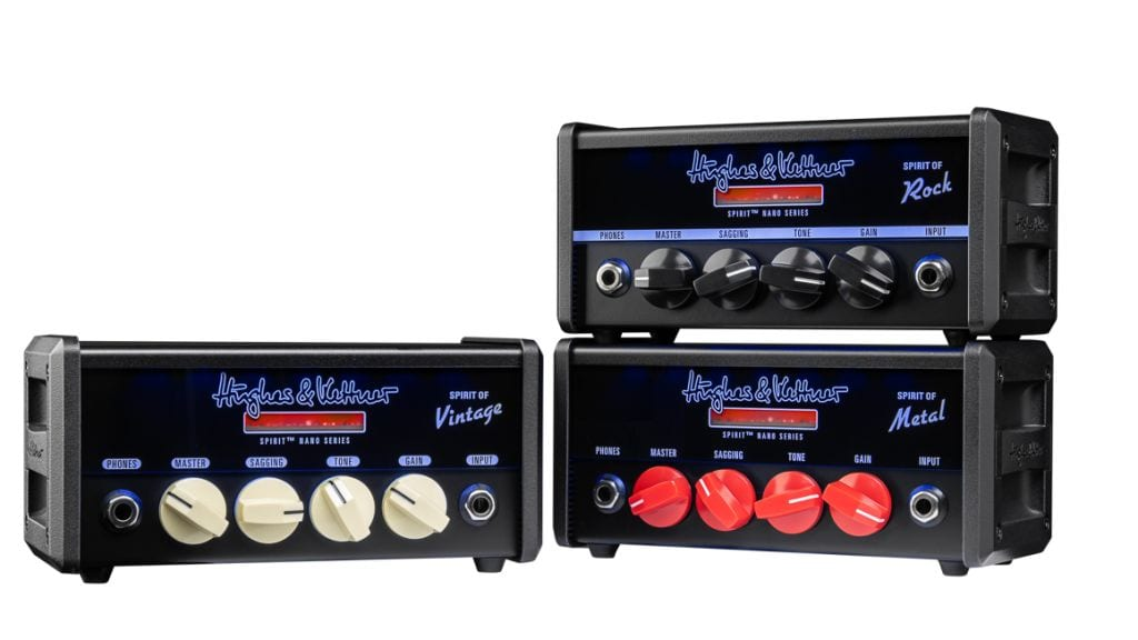 Hughes & Kettner Spirit Nano heads in Rock, Metal and Vintage flavours