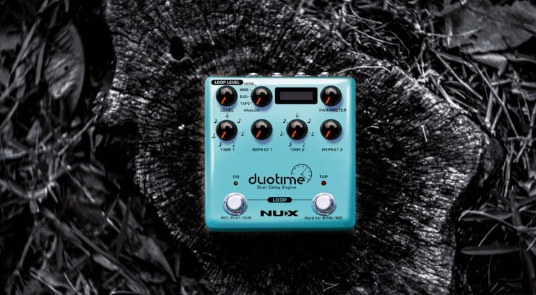 NUX Duotime Stereo Delay and Looper pedal