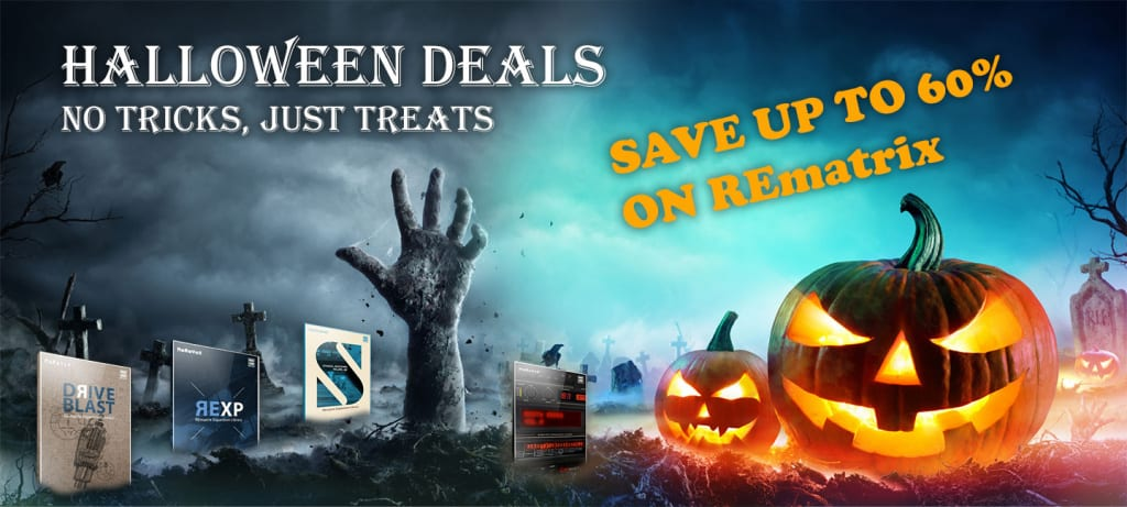 Overloud Halloween sale