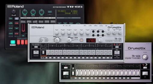 Roland TR-606 recreations