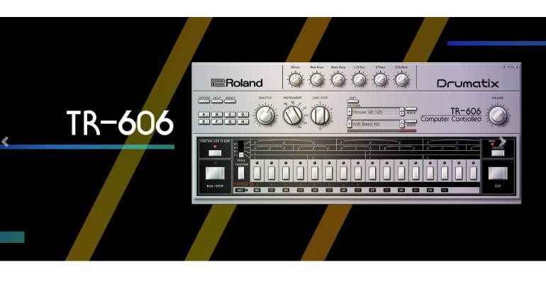 Roland TR-606 plugin