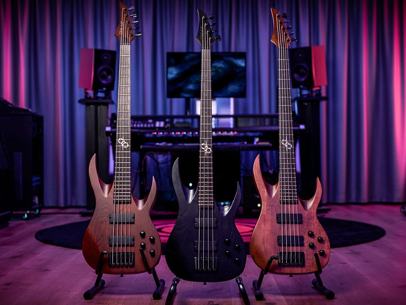 Solar Guitars has just launched their first AB2 series basses