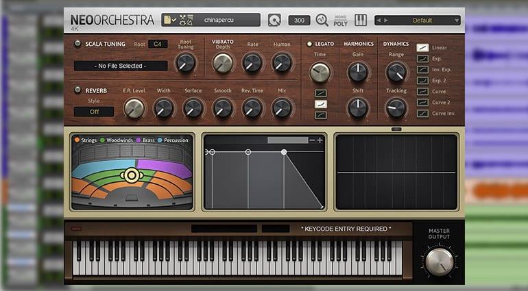 sound magic china impression sample pack GUI