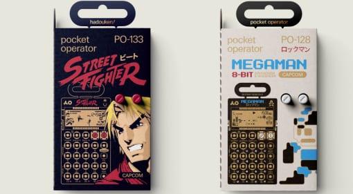 TE Capcom Pocket Operator