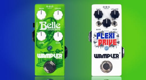 Wampler Belle Overdrive and Plexi Drive Mini