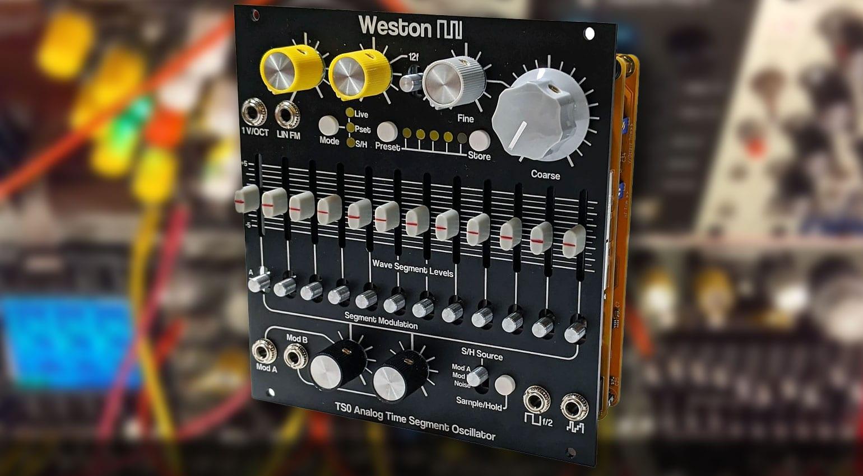 SynthBooth: Weston Precision Audio TS0 Time Segment Oscillator