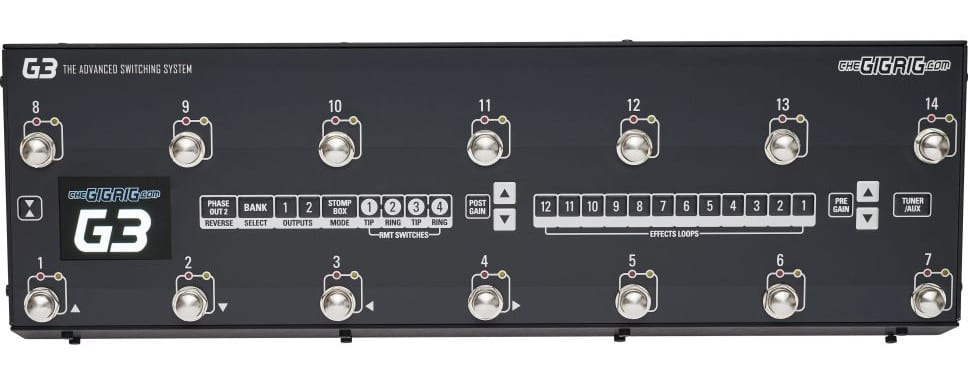 Gig Rig G3 Pedal Switching System