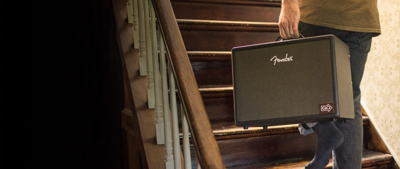 Fender Acoustic Junior, lightweight and feature packed acoustic amp