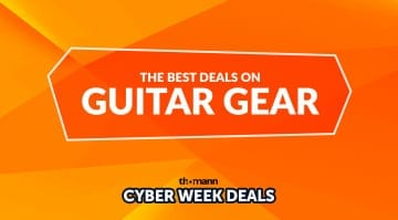 Thomann Cyber Weeks Guitar Gear Deals