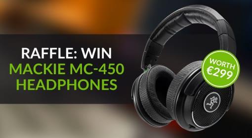 Win Mackie MC-450 Headphones Raffle Competition Giveaway