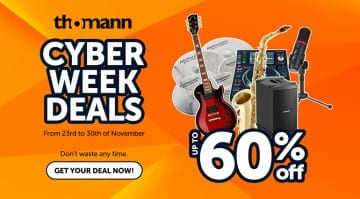 Thomann Cyber Week Deals