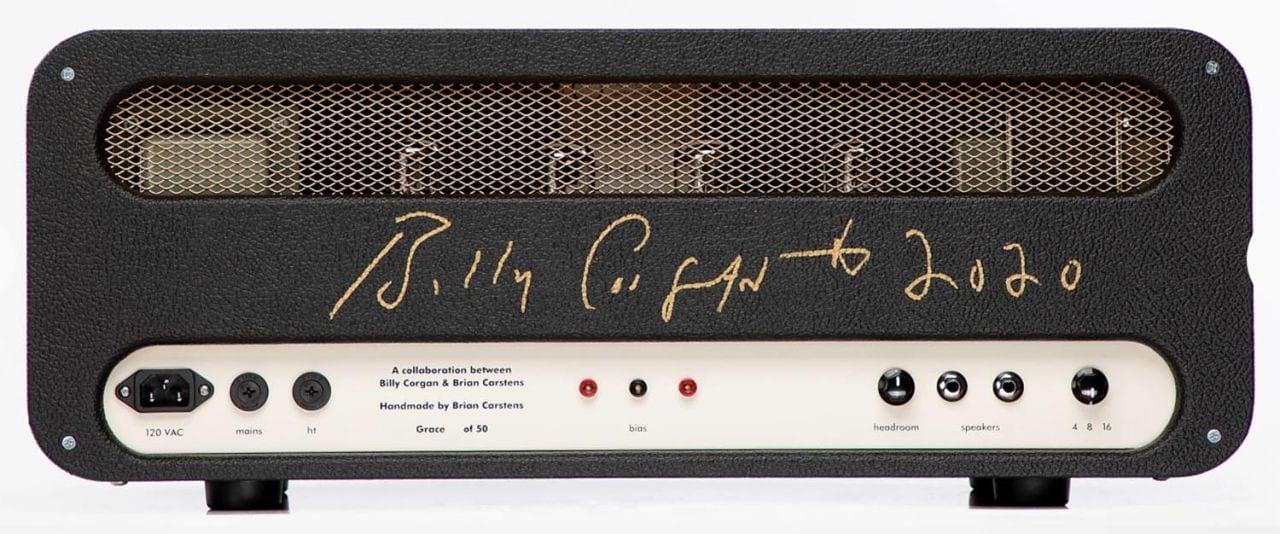 Billy Corgan Grace amp head signed