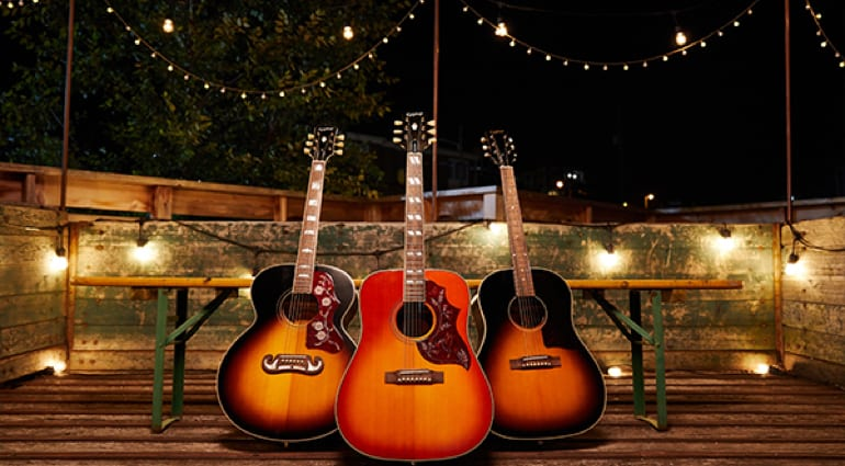 Epiphone Inspired By Gibson Hummingbird, J-45 and J-200