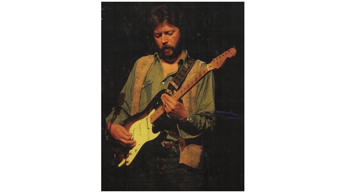 Eric Clapton playing Slowhand