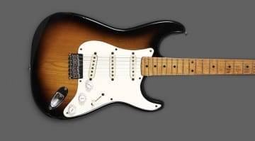 "Eric Clapton's 1954 Fender Stratocaster ""Slowhand"" is up for auction starting at $1 million"