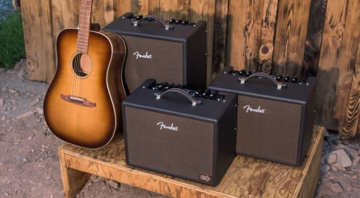 Fender Acoustic Junior, Acoustic Junior Go and Acoustic SFX amps