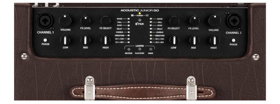 Fender Acoustic Junior Go top panel