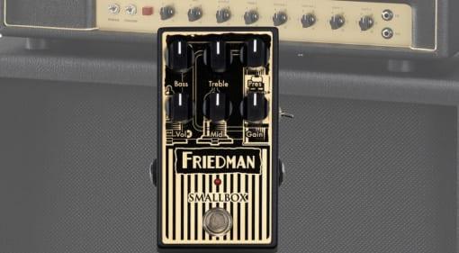 Friedman Smallbox Overdrive pedal